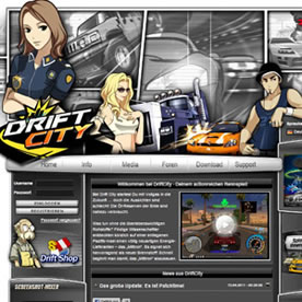 Drift City Screenshot 1